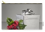 Silver Present Carry-all Pouch