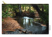 Silver River Channel In Autumn Carry-all Pouch