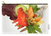 Silver Salad Fork Carry-all Pouch