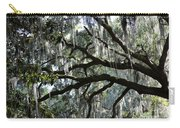 Silver Savannah Tree Carry-all Pouch