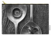 Silver Spoons Black And White Carry-all Pouch