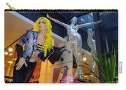 Silver Statue Carry-all Pouch