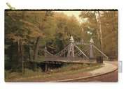 Silver Suspension Bridge Carry-all Pouch