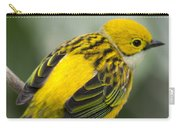 Silver-throated Tanager - Tangara Icterocephala Carry-all Pouch