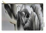 Silver Tulips Carry-all Pouch