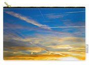 Silver Wing Sunset Carry-all Pouch