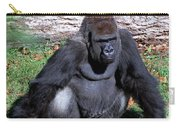 Silverback Western Lowland Gorilla Carry-all Pouch