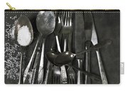 Silverware With Salt Carry-all Pouch