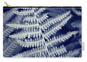 Silvery Fern Carry-all Pouch