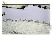 Silvery Sage Green Lily Pads Carry-all Pouch