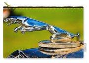 Simply Jaguar-front Emblem Carry-all Pouch