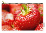 Simply Strawberries Carry-all Pouch