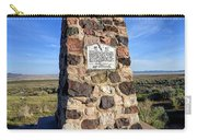 Simpson Springs Pony Express Station Monument - Utah Carry-all Pouch