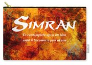 Simran Carry-all Pouch