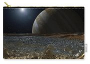 Simulated View From Europas Surface Carry-all Pouch