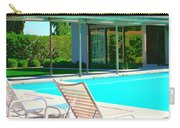 Sinatra Pool Palm Springs Carry-all Pouch by William Dey