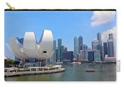 Singapore Artscience Museum And City Skyline Carry-all Pouch