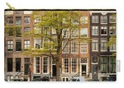 Singel Canal Houses In Amsterdam Carry-all Pouch