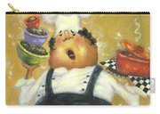Singing Chef In Gold Carry-all Pouch