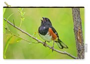 Singing Eastern Towhee Carry-all Pouch