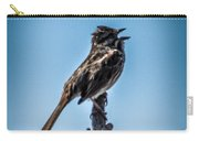 Singing Song Sparrow Carry-all Pouch