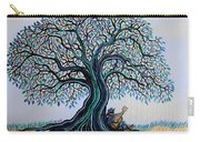 Singing Under The Blues Tree Carry-all Pouch
