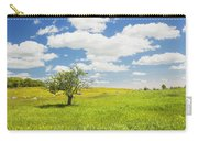 Single Apple Tree In Maine Blueberry Field Carry-all Pouch