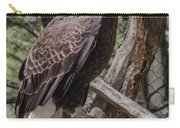 Single Bald Eagle Carry-all Pouch