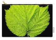 Single Leaf From Raspberry Bush Carry-all Pouch