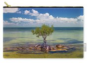 Single Mangrove Tree In The Gulf Carry-all Pouch