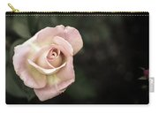 Single Muted Rose Carry-all Pouch