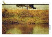Single Pine Tree Carry-all Pouch by Carlos Caetano