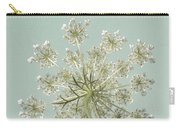 Single Queen Anne's Lace Carry-all Pouch
