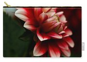 Single Red Dahlia Carry-all Pouch
