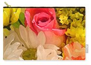 Single Rose Bouquet Carry-all Pouch