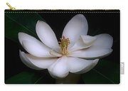 Sweet White Magnolia Bloom Carry-all Pouch