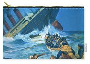 Sinking Of The Titanic Carry-all Pouch