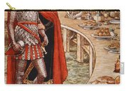 Sir Galahad Is Brought To The Court Of King Arthur Carry-all Pouch