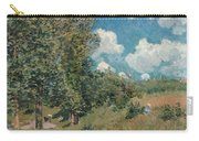 Sisley The Road, 1875 Carry-all Pouch