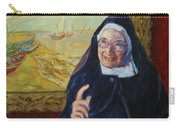 Sister Wendy Carry-all Pouch