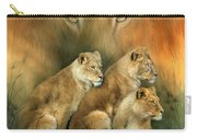 Sisterhood Of The Lions Carry-all Pouch