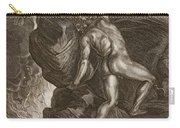Sisyphus Pushing His Stone Carry-all Pouch