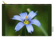 Sisyrinchium Angustifolium Carry-all Pouch