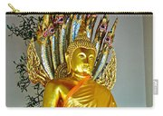 Sitting Buddha In Wat Po In Bangkok-thailand Carry-all Pouch