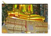 Sitting Buddha In Wat Suthat In Bangkok-thailand Carry-all Pouch