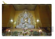 sitting Buddha made from one single marble block in KYAUKTAWGYI PAGODA Carry-all Pouch