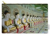 sitting Buddhas in Umin Thonze Pagoda Carry-all Pouch
