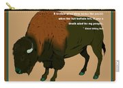 Sitting Bull Buffalo Carry-all Pouch