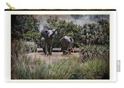 Sitting By The Elephants Carry-all Pouch