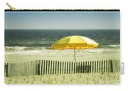 Sitting By The Shore Carry-all Pouch